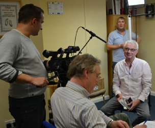 Gary Hogg interviewed for Songs of Praise